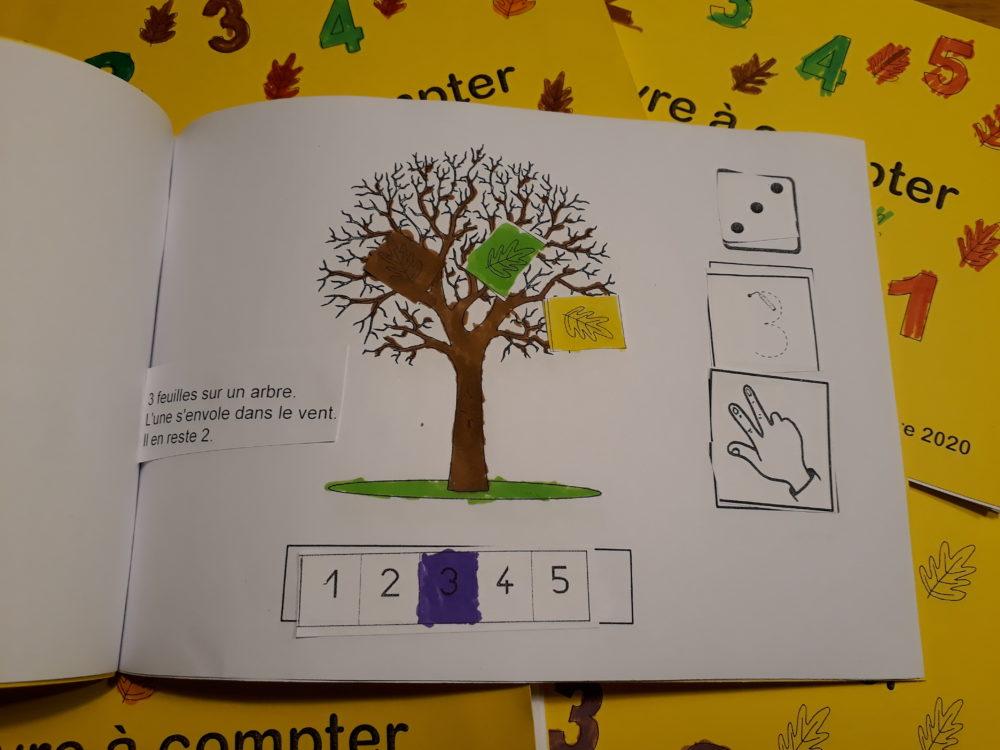 livre à compter p3